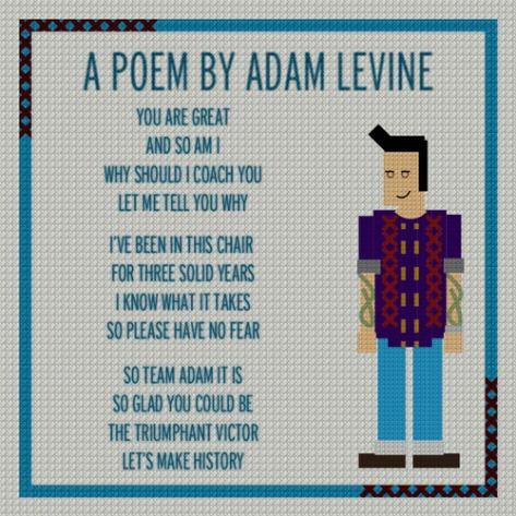 Poema de Adam Levine