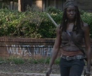 the-walking-dead-wolves-not-far-michonne-amc